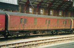 V 94033 150294 (stevenjeremy25) Tags: mk1 parcel van railway coach carriage train nlx 94033 newspaper