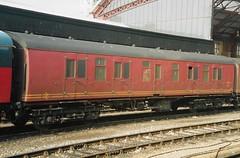V 92979 150294 (stevenjeremy25) Tags: mk1 parcel van railway coach carriage train nfa 92979