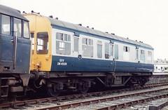 C DM45026 1 090585 (stevenjeremy25) Tags: observation saloon qxv 45026 dm45026 railway coach carriage train
