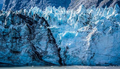 2019 - HAL Alaska Cruise - 29 - Glacier Bay - 4 - Johns Hopkins Glacier