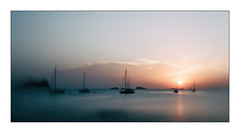 Summer (Jean-Louis DUMAS) Tags: ibiza mer voyages sunset coucher de soleil sunrise sony panoramic panoramique landscape paysage nature bateau boat espage isle crepuscule îles sonydslra850 sonyflickraward