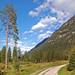 Der Kramerplateauweg (40) - Blick auf das Wettersteingebirge