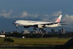 (陳 冠全) Tags: 中華航空 華航 777