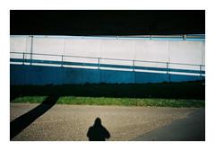 Aarhus, Denmark. 2019. (csinnbeck) Tags: analog film canon primazoom sureshot 85n c200 fuji fujicolor aarhus denmark 2019 shadows shadow overpass viby silhouette