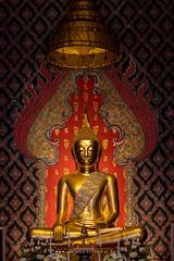 Phra Phuttha Molilokanart, Wat Molilokkayaram (imageofbangkok) Tags: bangkok buddhastatue buddhisttemple thaiarchitecture thonburi ubosot watmolilokkayaram