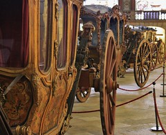 Coach Museum, Belem - Lisbon, Portugal (LakeRidge Photography) Tags: horse carriage royal royalty ceremony gold guilded wheels wood classic history money wealthy display show lisbon belem portugal portuguese castle custom car