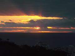DSCF1750 (rugby#9) Tags: sunset sea clouds cloud ocean sun canaries canaryislands tenerife