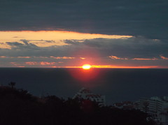 DSCF1753 (rugby#9) Tags: tenerife canaryislands canaries sun ocean cloud clouds sea sunset