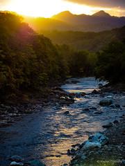 [09/52] Saru River (shortyok) Tags: river saru hokkaido hidaka sunset mountains autumn olympus omd em1