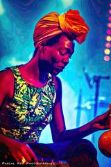 Lady sings the blues. (Pascal Rey Photographies) Tags: thebongohop embarquefestival festival saintbarthélémydebeaurepaire beaurepaire38270 isère auvergnerhônealpes france psychédélique psychedelic acidulée acidulées acidtest stoner surrealiste funkypunks afrocaribéen musiques music musica musique live livemusic livebands livegroups lights lightshow lady femme woman damen senorita senora signora chanteuse