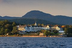 The Sagamore in Fall (Samantha Decker) Tags: autumn canoneos7d warrencounty upstate lakegeorge newyork tamronsp150600mmf563divcusd fall samanthadecker telephoto ny boltonlanding sagamore