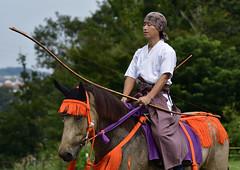 八王子流鏑馬 Hachioji Equestrian Archery 05 (ashleybrownpix) Tags: japan horse archery traditional costume