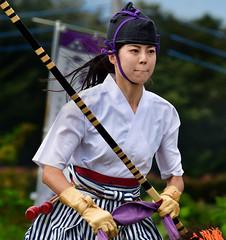 八王子流鏑馬 Hachioji Equestrian Archery 03 (ashleybrownpix) Tags: japan horse archery traditional costume