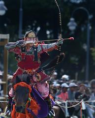 八王子流鏑馬 Hachioji Equestrian Archery 18 (ashleybrownpix) Tags: japan horse archery traditional costume