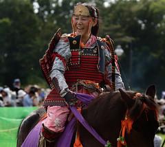 八王子流鏑馬 Hachioji Equestrian Archery 21 (ashleybrownpix) Tags: japan horse archery traditional costume