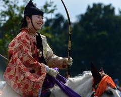 八王子流鏑馬 Hachioji Equestrian Archery 15 (ashleybrownpix) Tags: japan horse archery traditional costume