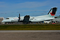 C-GABO (Air Canada express - JAZZ) (Steelhead 2010) Tags: aircanada aircanadaexpress jazz dehavillandcanada dhc8 dhc8300 yyz creg cgabo