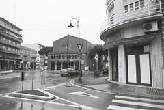 Rimini (goodfella2459) Tags: nikonf4 afnikkor24mmf28dlens adoxsilvermax100 35mm blackandwhite film analog rimini italy streets road buildings bwfp