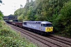 56103 Meadowgate Lane, Sothal, Sheffield 14 Oct 19 (doughnut14) Tags: 56103 rail freight diesel loco 6z55 beighton sothal chaddesden cum carlisle kingmoor oldroad midland sheffield dcrailfreight dc jna kea stora