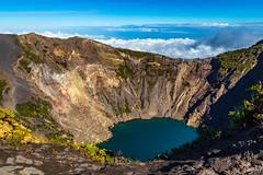 Blue volcano (FVillalpando) Tags: volcano irazu costaricano nature water texture colours sky blue ngysa