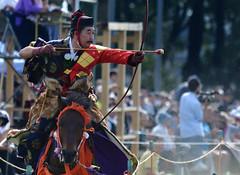 八王子流鏑馬 Hachioji Equestrian Archery 23 (ashleybrownpix) Tags: japan horse archery traditional costume
