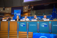 EPP Political Assembly, 14 October 2019 (More pictures and videos: connect@epp.eu) Tags: epp political assembly 14 october 2019 vice lange de esther murphy dara deputy vandeputte luc general secretary lópezistúriz antonio president daul joseph