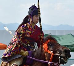 八王子流鏑馬 Hachioji Equestrian Archery 09 (ashleybrownpix) Tags: japan horse archery traditional costume