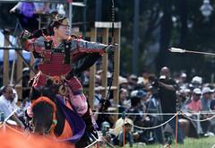 八王子流鏑馬 Hachioji Equestrian Archery 19 (ashleybrownpix) Tags: japan horse archery traditional costume