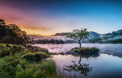 Rydal in the Mist (petebristo) Tags: rydalwater lakedistrict lakes reflections mistymorning misty mist sunrise