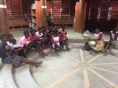 Girls mentoring session at Mumuni Library (Lubuto Library Partners) Tags: lubutolibrarypartners lubutolibrary publiclibrary lubuto library africa zambia children youth ovc mentoring