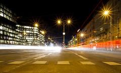 Night Rush (CoolMcFlash) Tags: night light trails longexposure vienna street traffic nacht licht lichtspuren langzeitbelichtung wien car verkehr strase fotografie photography sigma 1020mm 35 city stadt urban motion blur canon eos 60d erstecampus