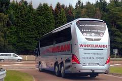 Photo of OS-HW-289 Neoplan Starliner - Reiseb�ro Winkelmann GmbH., Venne, Niedersachsen,  Germany.