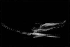 The Bridge Overpass (Peter Polder) Tags: australia architecture abstract cityscape evening field bridge city landscape monochrome mono sydney street sky town urban overcast