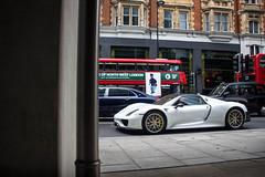 Weissach. (TJHarrington) Tags: porsche 918 918spyder spyder weissach white weiss car supercar hypercar limited city london supercarsoflondon londoncars 1of918 ksa saudiarabia 14rdb bdr41 b14
