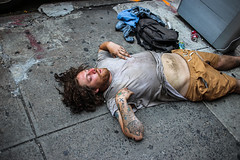 Hot Day (Nun Nicer Artist) Tags: streetphotography street 35mm 35mmstreetphotography streetperson vagabond travel walking manhattan citylife chinatown bowery newyork nunnicer nyc hotday hot