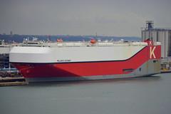 POLARIS HIGHWAY (Goolio60) Tags: ship shipping roro vehicles port southampton