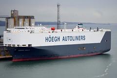 HOEGH OSLO (Goolio60) Tags: ship shipping roro vehicles port southampton