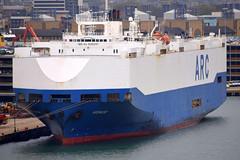 HONOR (Goolio60) Tags: ship shipping roro vehicles port southampton