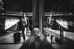 Paris (tomabenz) Tags: noiretblanc bnw streetshot bw sony a7rm2 a7 reflection urban paris monochrome people noir et blanc citytrip urbanexplorer zeiss streetview black white europe human geometry street photography blackandwhite humaningeometry sonya7rm2 sonya7 streetphotography