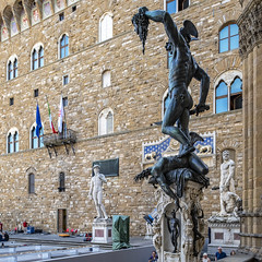 Florence Morning Statues (ken mccown) Tags: florence firenza urban statues sculpture italy