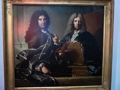 Portrait de Charles Le Brun et de Pierre Mignard (bpmm) Tags: lerêvedêtreartiste hyacintherigaud lille nord palaisdesbeauxarts art expo exposition peinture