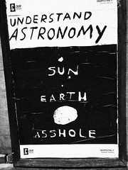 Poster two (141019002) (francescoccia) Tags: astronomy bologna cheapfestival cheap posterart poster m43 micro43 mirrorless olympus olympusomdem10markiii blackwhite bw bn francescoccia