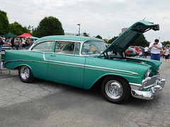 1956 Chevy Bel Air (splattergraphics) Tags: 1956 chevy belair carshow wilmoagogo wilmingtonde