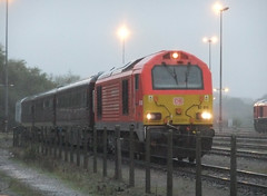 67015 1Z05 141019 (stevenjeremy25) Tags: db 67 67015 1z05 westbury train railway