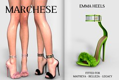 Marchese X Access (~MARCHESE~) Tags: marchese maitreya belleza access secondlife sl shoes
