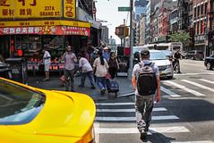 Smoke (Nun Nicer Artist) Tags: streetphotography smoke 35mm 35mmstreetphotography street travel manhattan chinatown cigarette walking newyork nunnicer nyc citylife city
