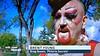 Red Ribbon CBC interview (beenbair) Tags: winnipeg gay picky pictoriasecrete redribbonwalkandrun aids hiv charity ninecircles cbc interview television tv vimyridgememorialparkdrag toughdrag balddrag bald