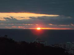 DSCF1752 (rugby#9) Tags: tenerife canaryislands canaries sun ocean cloud clouds sea sunset