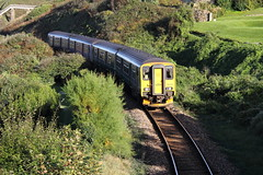 THE ST IVES BAY LINE (Andrew Mansfield - Sheffield UK) Tags: carbisbay carbisbaystation cornwall england gwr trains train treno treni tren trenes ferrocarril class150 150249 150219 thestivesbayline