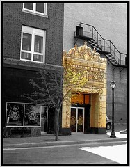 Fox Theatre  ~  Side Exit  ~ St Louis  - Missouri  - Architecture (Onasill ~ Bill Badzo - 67 M) Tags: usa fox theatre st louis mo missouri uptown historic historical building nrhp light fixture theater cinema movie house saint university architecture byzantine atmospheric grand blvd palace travel tourist tours onasill macro style saintlouis stlouis spanish moorish